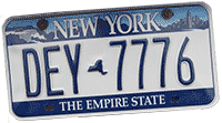 Picture: number-plate